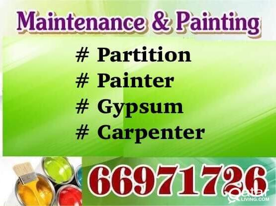 Gypsum Partition, painter, Carpenter 66971726