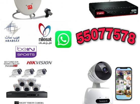 Satellite Dish T.V And CC.TV Camera Work Service