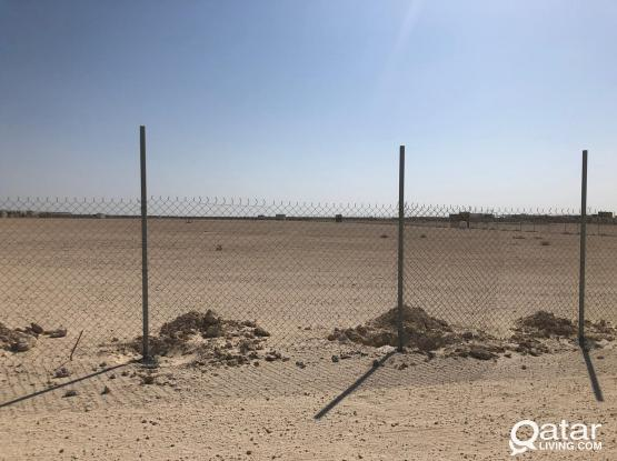 Available 30,000 SQM Open yard in AL-KHOR