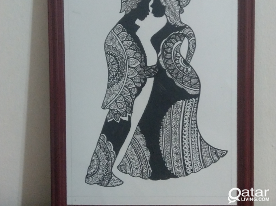 Art and Craft wall decor sketches