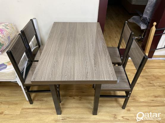 DINING TABLE WITH 4 CHAIR BRAND NEW -PH -77850533
