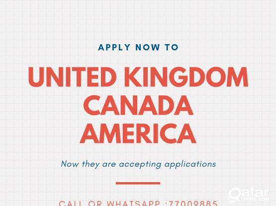 GLOBAL VISA ASSISTENCE : UK,CANADA & AMERICA VISAS