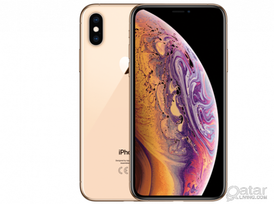 iPhone XS 64GB gold perfect condition