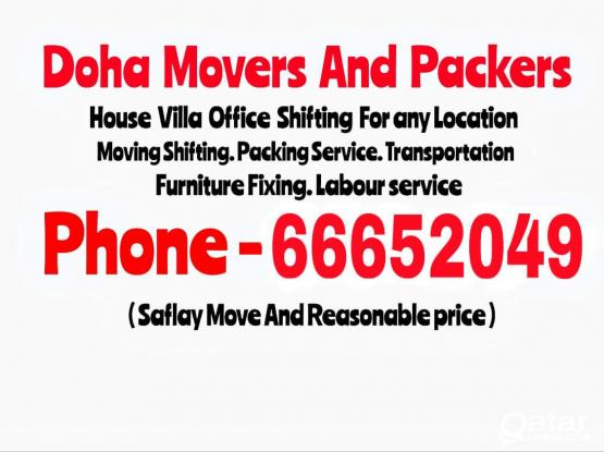 House Villa Office Shifting For any Location. If you need just call me : 66652049