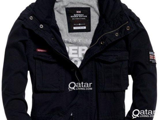 Superdry. Rookie Military Jacket. (BRAND NEW WITH TAGS.)