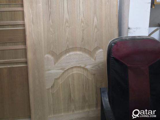 Aluminium Door & Wood Door Making & Fixing pl call 33656649