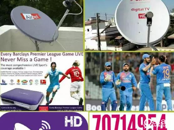 Satellite dish installation services, Satellites items also selling. Please call 70714954