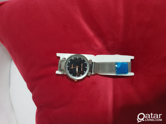 Magnetic fashion watch