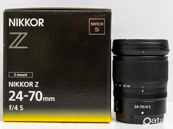 Nikon 24-70 F4 Z mount Almost new