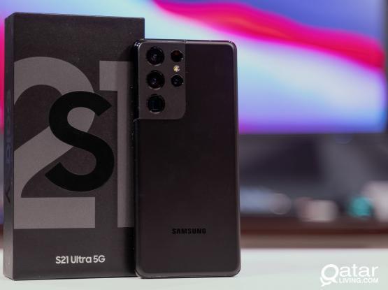 Samsung s21 ultra 256gb black