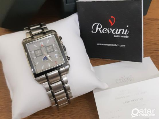 Swiss Watch - Revani - Chronograph