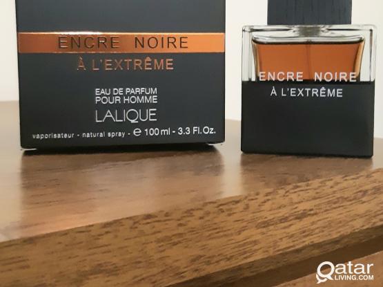 Men's Perfume - Encre Noire A L'Extreme by Lalique - New - Original & Authentic