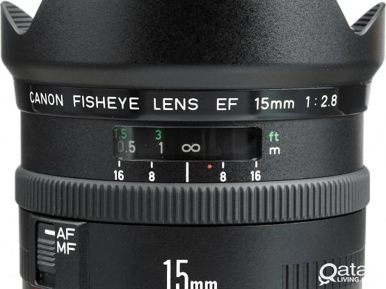 Rare Canon 15mm f2.8 Fisheye lens (Open to swap)