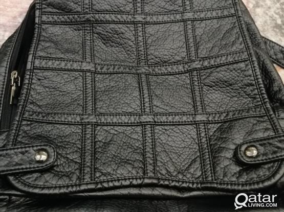 New unused genuine leather Backpack