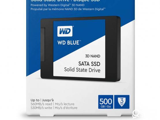 SSD : INTERNAL SATA III SSD WD BLUE 500GB