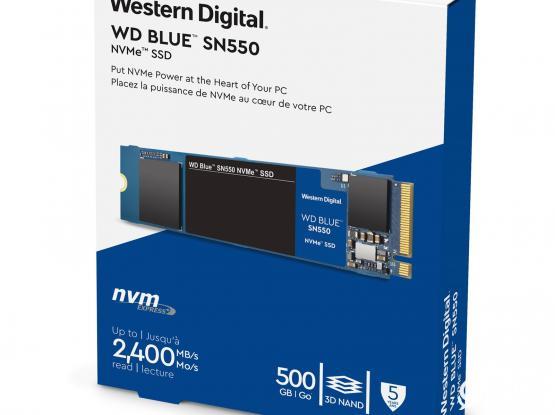 Western Digital Blue 500GB WDS500G2B0C NVMe M.2 SSD