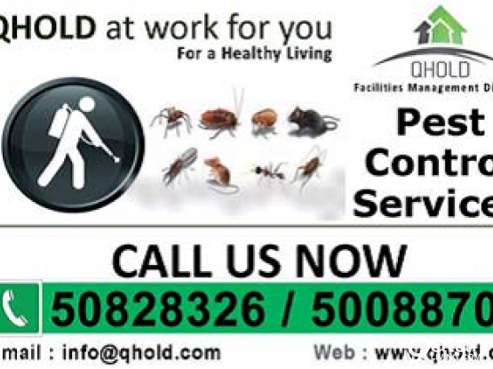 Pest Control Services - Satisfaction Guaranteed (Call/Whatsapp: 55957958)