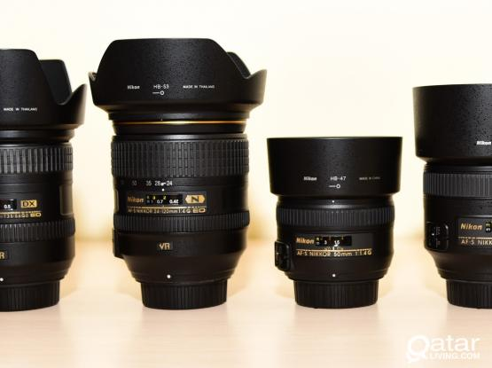 Nikon DSLR Lenses for Sale