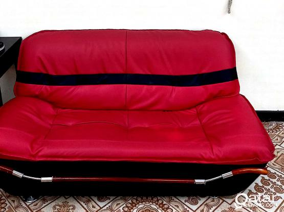 VERY CLEAN LETHER SOFA(2+3)