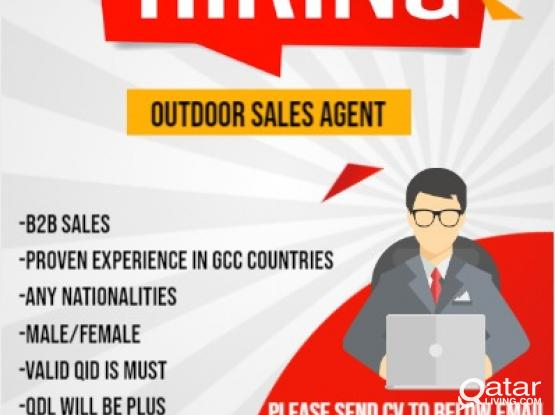 Required -SOHO(Outdoor Sales Agent)