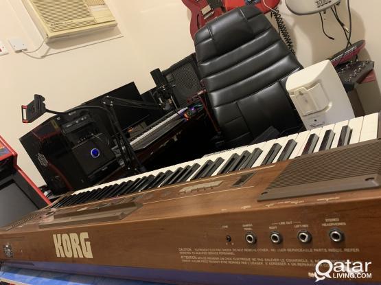 korg Analog synthesizer Keyboardd japan