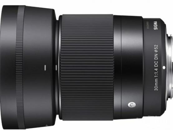 Sigma prime lens 30mm F1.4 dc dn