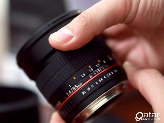 Rokinon 85mm 1.4 Manual Focus