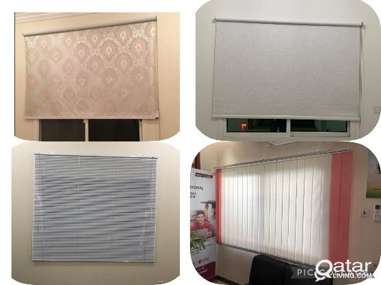 Roller Blackout , Blinds & Vertical Office Curtains  33441020