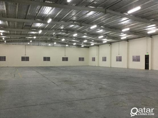 GENRAL STORE FOR RENT FOR RENT IN INDUSTRIAL AREA 3600 SQMTR