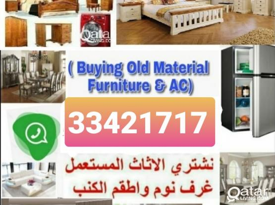Buying All  kinds of House hold Used furniture Item full Bedroom Set,Office Tv Set, A/C, Elections, fridge, Aluminum,kitchen Cabinet, Washing Machinen, etc. Call & WhatsApp Me☎️..974:33 42 17 17.Our Service  24/7 hold of Doha City Qata.Now discount offer.
