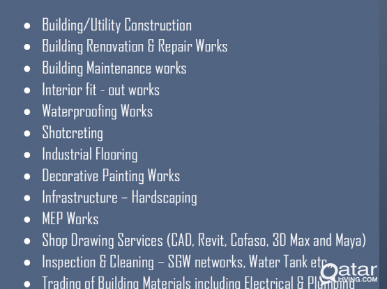 Building maintenance (MEP) and Drafting Service 70423052