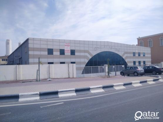 3000 SQM Showrooms plus Stores for Rent in Industrial Area