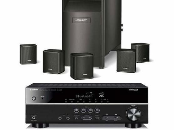 Bose Acoustimass 6 series V & Yamaha 385 Avr