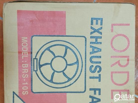 New Box Pack Exhaust Fan