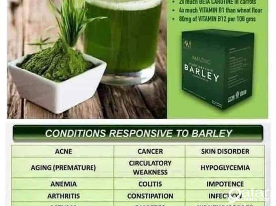 ORGANIC BARLEY DRINK TO BOOST IMMUNE SYSTEM