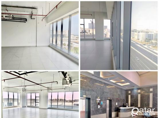 Offices for Rent at ALSADD in Different Buildings!! 120 Sqm to 250 Sqm