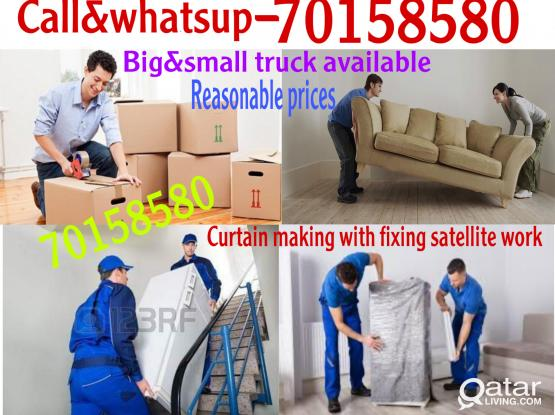 Best prices-Moving shifting packing carpentry transport&Curtain Making  fixing services-70158580