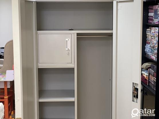 BRAND NEW TWO DOOR STEEL CUPBOARD CONTACT:77850533