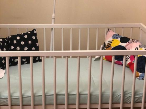 Urgent sale of Ikea Baby cott / Never Used
