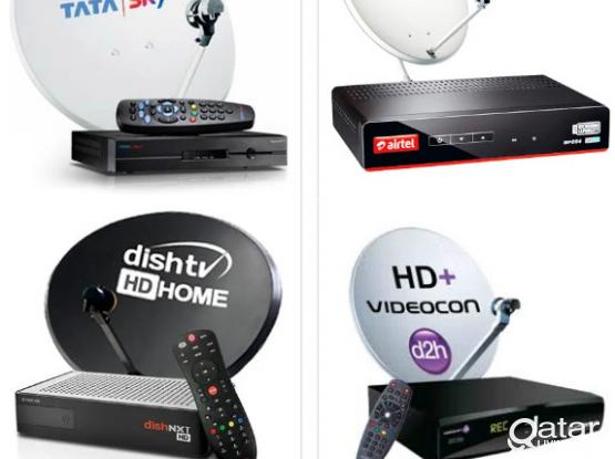 ALL KINDS OF SATELLITE DISH RECEIVER SALE INSTALLATION AIRTEL HD RECEIVER AVAILABLE CALL WHATSAPP NUMBER 33083167