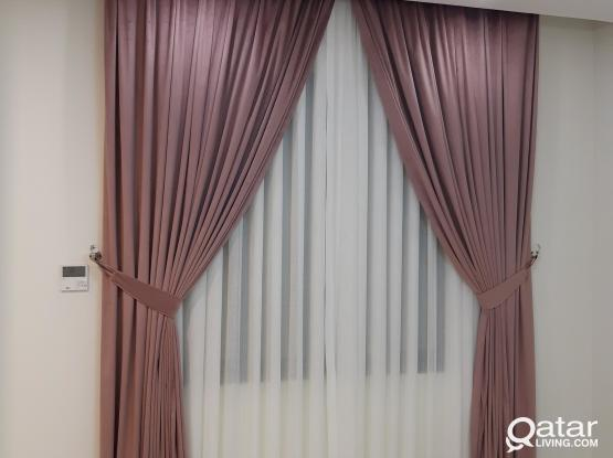 All Curtains,,Wallpaper ,P.V.C for floor,,Carpet Etc. All Kinds of works. MOB : 33826073