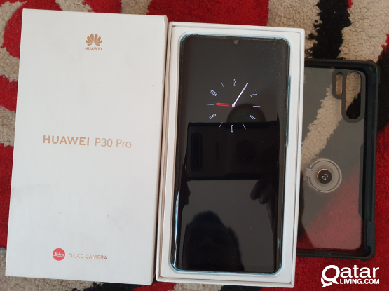 For Salë Huawei P30 Pro 8GB 256GB Aurora blue with excellent condition without any single scracthes