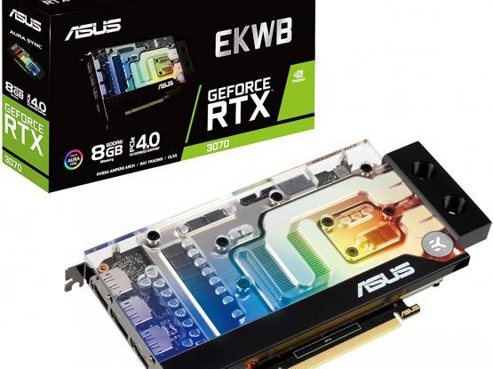 New ASUS EKWB GeForce RTX 3070 8GB GDDR6