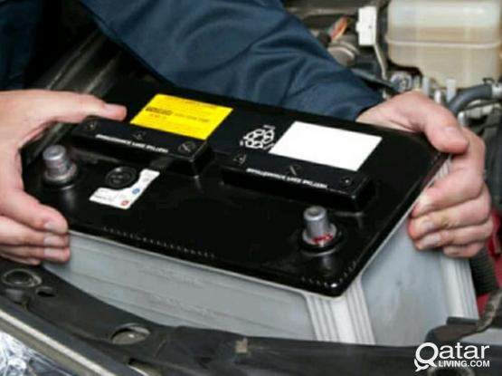 FREE DELIVERY AND INSTALLATION FOR ALL CAR BATTERIES @ QATAR. 24*7