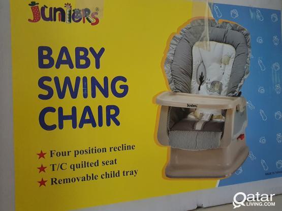 baby swing chair...