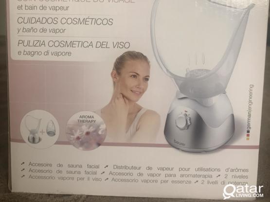 Beurer facial steamer