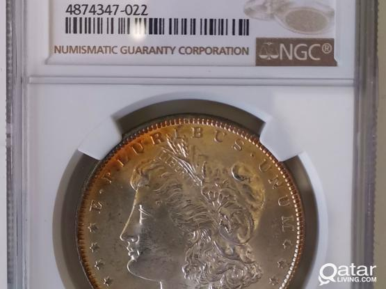 For Sale MS-63 1887-P Morgan Silver Dollar