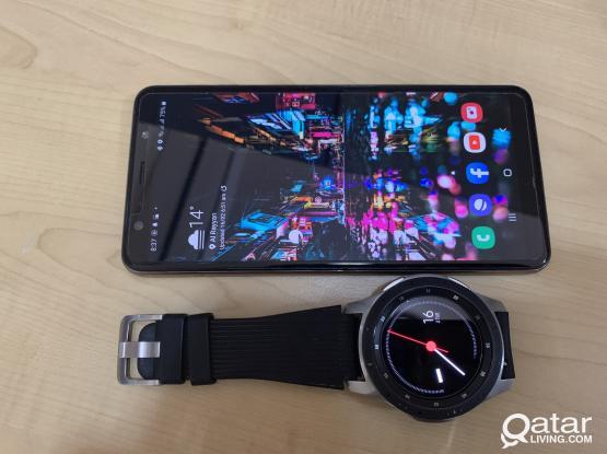 A7 128gb and galaxy watch