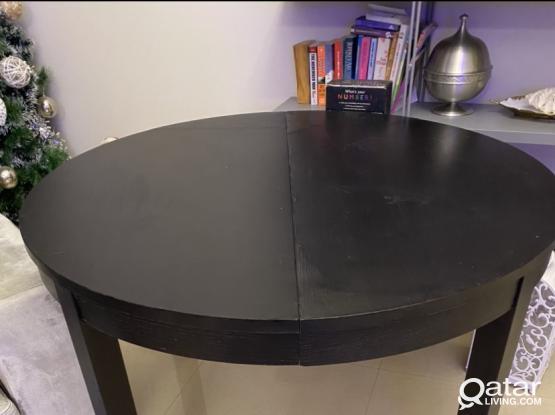 Ikea extendable table 4-8 pax
