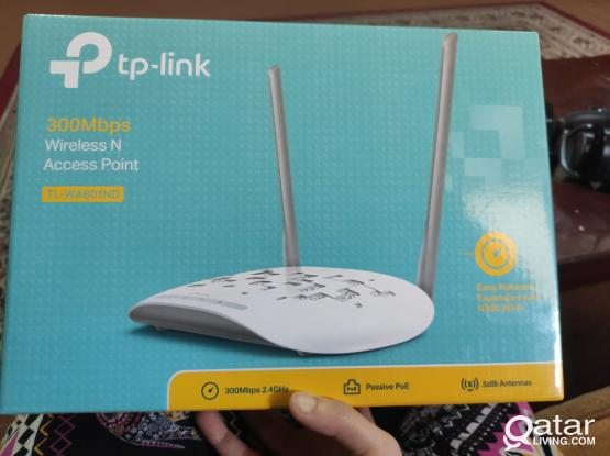 TP link router with box